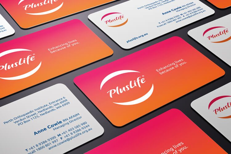 PlusLife Business Cards